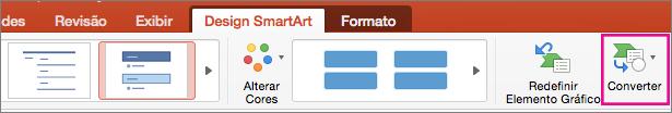 O mesmo conteúdo de slide com e sem conteúdo gráfico