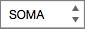 Lista de funções na barra de fórmulas