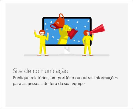 SharePoint Office 365 – Site de comunicação
