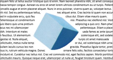 Pontos da disposição do texto
