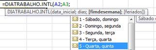 Exemplo de fórmula