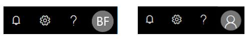 Seção do cabeçalho com a imagem da foto padrão
