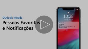 Miniatura para Pessoas e Notificações Favoritas de vídeo - clique para reproduzir