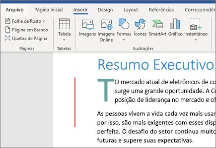 Gráficos SmartArt de Imagens do Word do Office 365
