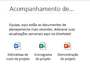 Arquivos inseridos em uma página no OneNote para Windows 10