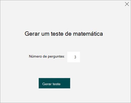 Digite o número de perguntas para o teste prático.