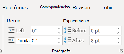 Alterar o layout no Word