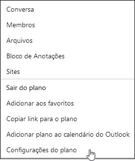 Obter emails sobre um plano