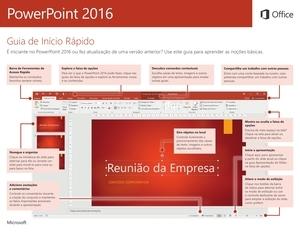 Guia de Início Rápido do PowerPoint 2016 para Windows