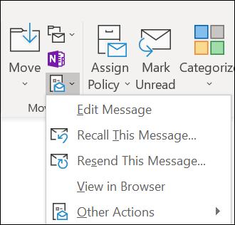 Você pode reenviar uma mensagem.