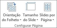 Grupo de Configuração de Página