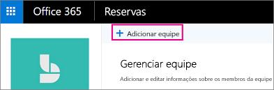 Adicionar botão de equipe na página de equipe do reservas