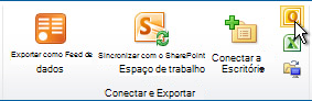 Comando Conectar-se ao Outlook