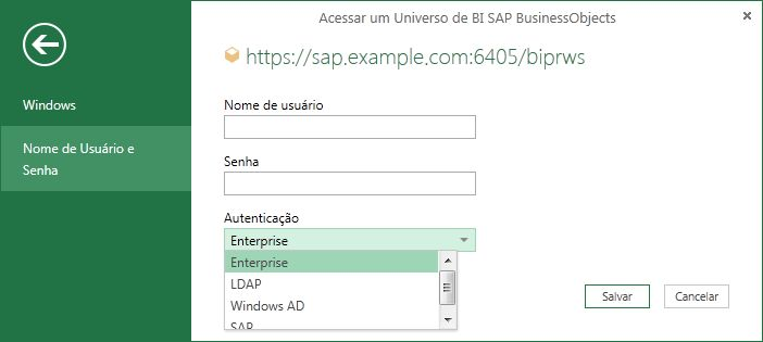 Acesso SAP
