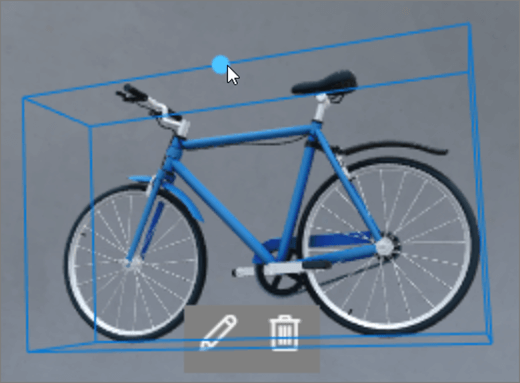 Interface do usuário de rotação