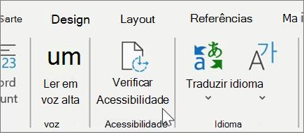 Verifique a Acessibilidade no Word1