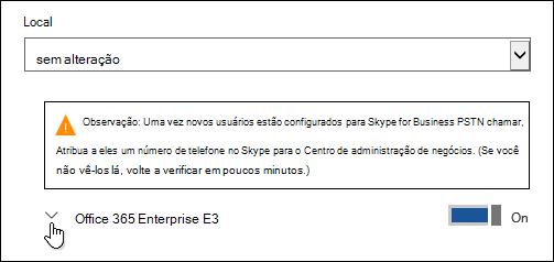Expanda a licença para ver o recurso do Microsoft Forms