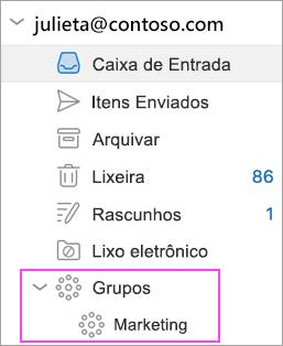 O recurso Grupos do Outlook está disponível no Office 365!