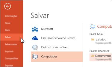 0552495a76719 Tarefas básicas para criar uma apresentação do PowerPoint - PowerPoint