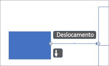 Mover um conector por pixel