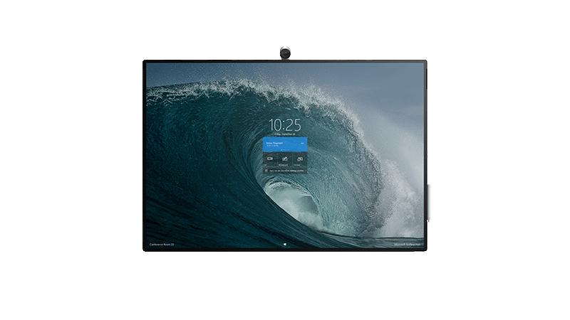 Fotografia no Surface Hub