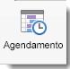 O ícone Agendamento exibido na guia Reunião de Organizador.