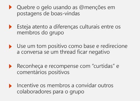 Exemplos de declarações culturais