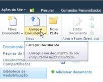 Carregando documentos na Biblioteca de Redistribuição