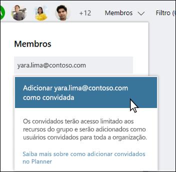 Captura de tela: mostrando prompt perguntando se você deseja adicionar o usuário convidado.