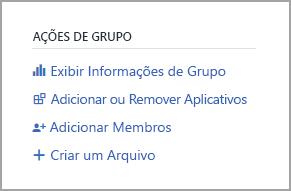 Link de obtenção de informações de grupo de modo de exibição