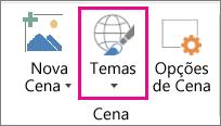 Opção Temas de Mapas 3D