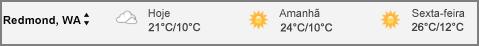 Clima no calendário