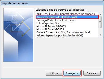 Caixa de diálogo do Office SharePoint Server 2007