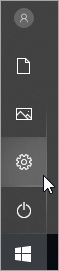 Pic de ícone de configurações