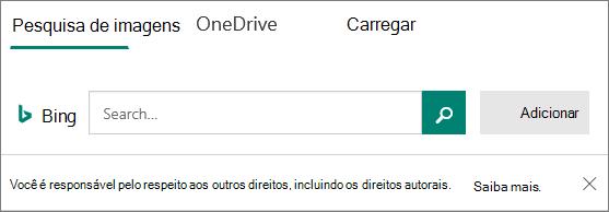 Inserir opções de imagem para o Microsoft Forms