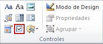 Controle de conteúdo de caixa de seleção