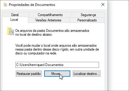 Uma captura de tela mostrando o menu de propriedades de documentos no Explorador de arquivos.