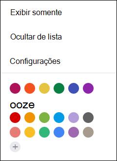 Selecione Configurações no calendário do Google.
