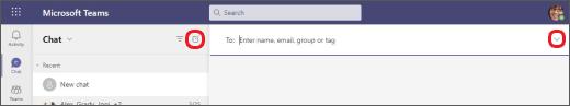 Nomear um chat de grupo A
