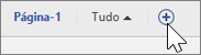 Instantâneo do ícone Adicionar/Excluir página