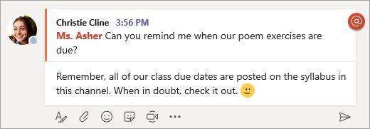 Selecione responder abaixo de uma mensagem para digitar sua resposta.