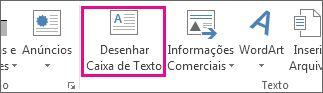 Desenhar Caixa de Texto