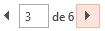 É possível navegar nas páginas da Visualização de Impressão usando as setas na parte inferior do painel de Visualização.