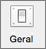 O ícone geral é mostrado nas preferências do Outlook.
