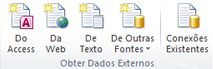 Imagem da Faixa de Opções do Excel