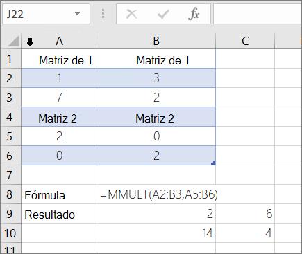 Função MULT-exemplo 1