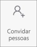 Botão Convidar Pessoas no OneDrive para Android