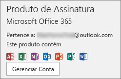 chave do produto office 2016 product key