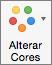 Na guia Design do Gráfico, selecione Alterar Cores