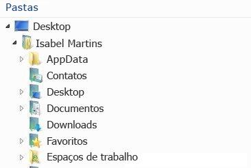 Espaços de trabalho do SharePoint Workspace 2010 aparecem nesta pasta do sistema de arquivos